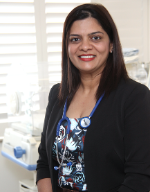 St Andrew's Ipswich Private Hospital specialist Sarika Bhadange