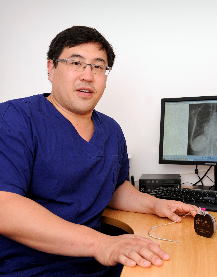 Joondalup Health Campus specialist Justin Ng