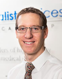 North West Private Hospital specialist Ben Green