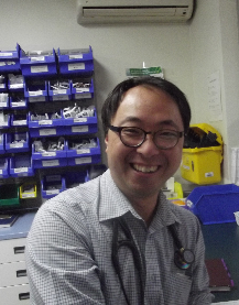 Nowra Private Hospital specialist Richard Liu